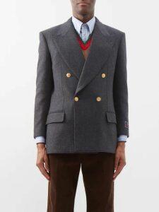 Prada - Slim Leg Stretch Denim Jeans - Mens - Black