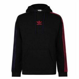 adidas Originals Three Stripe Hooded Sweatshirt