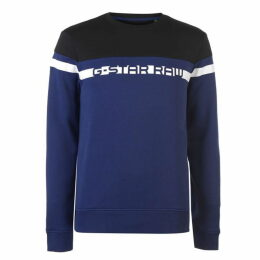G Star Raw Logo Sweatshirt