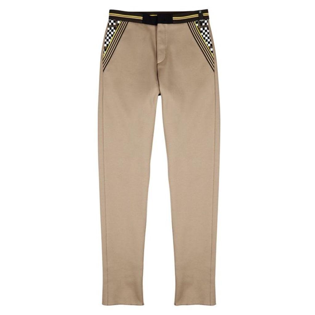 Fendi Camel Jersey Trousers