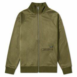 Stussy Poly Track Jacket Olive
