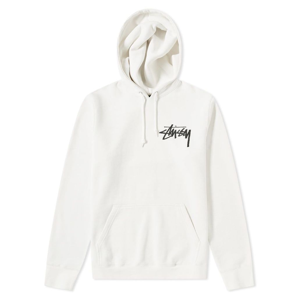Stussy Stock Pigment Dyed Hoody Natural