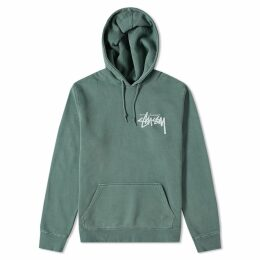 Stussy Stock Pigment Dyed Hoody Pine