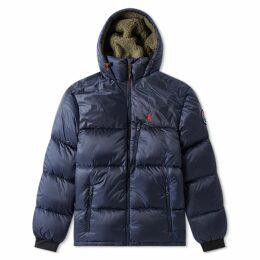 Polo Ralph Lauren Hooded Down Jacket Newport Navy