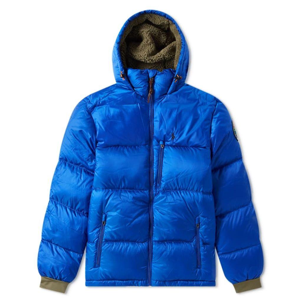 Polo Ralph Lauren Hooded Down Jacket Sapphire Star