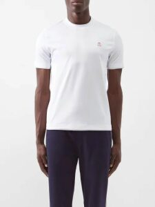 Missoni - Tie Dyed Cotton Trousers - Mens - Blue