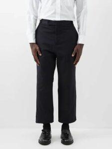 Missoni - Tie Dyed Cotton Trousers - Mens - Blue
