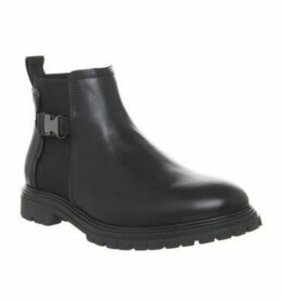 Ask the Missus Ideal Buckle Boot BLACK LEATHER