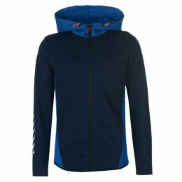 Jack and Jones Core Vertical Zip Hoodie