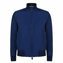 Canali Water Repellent Bomber Jacket