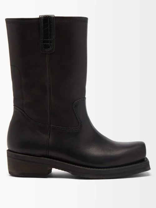 Commas - Wool Blend Relaxed Cropped Trousers - Mens - Beige