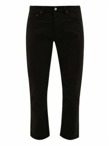Acne Studios - River Cotton Blend Slim Leg Jeans - Mens - Black