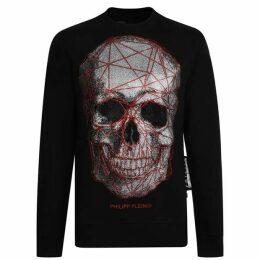 Philipp Plein Skull Crew Sweatshirt