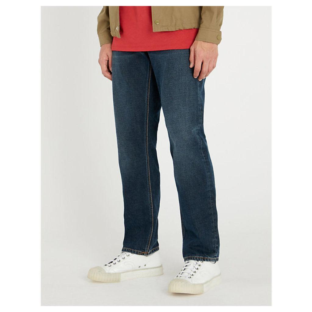 Sleepy Sixten regular-fit straight jeans
