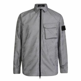 Stone Island Shadow Project Lenticular Striped Jacket
