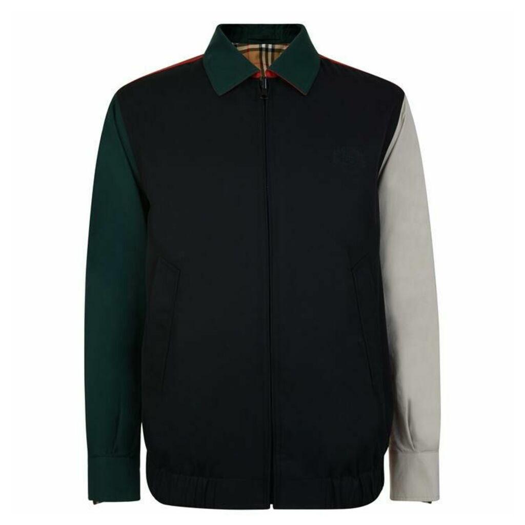 BURBERRY Reversible Vintage Check Harrington Jacket