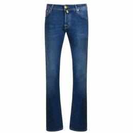 Jacob Cohen Yellow Badge Jeans