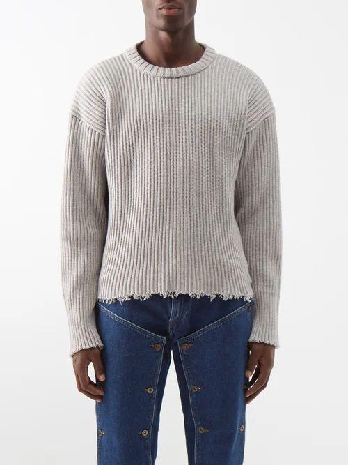 Joseph - Ernest Mid Rise Check Trousers - Mens - Black Multi