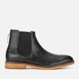 Clarks Men's Clarkdale Gobi Leather Chelsea Boots - Black - UK 7