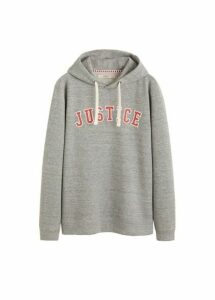 Message textured sweatshirt