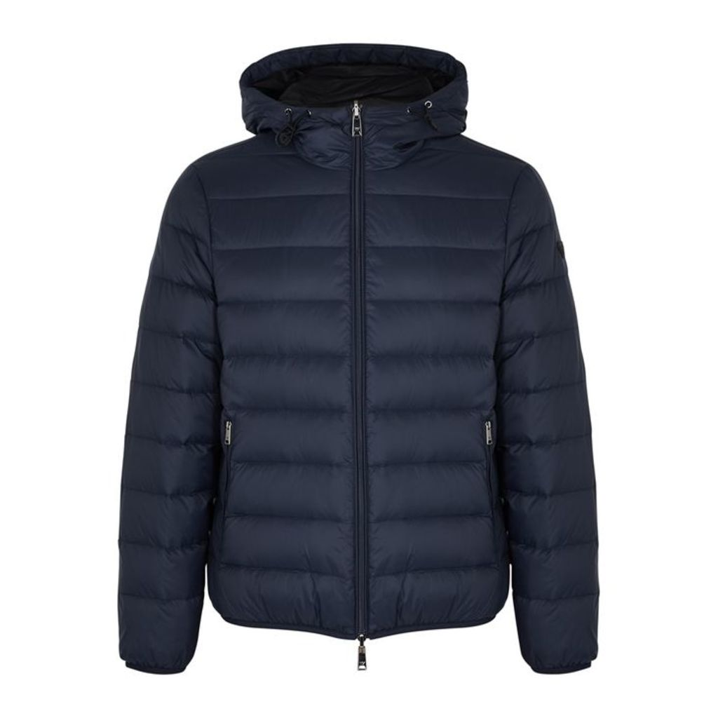 Emporio Armani Quilted Reversible Shell Jacket