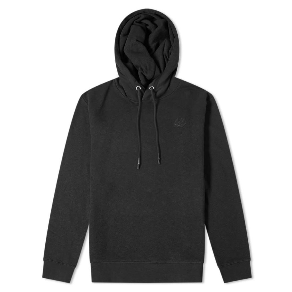 McQ Alexander McQueen Swallow Patch Popover Hoody Darkest Black