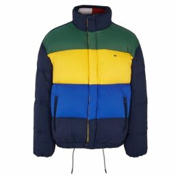 Tommy Jeans Quilted Oversized Shell Jacket