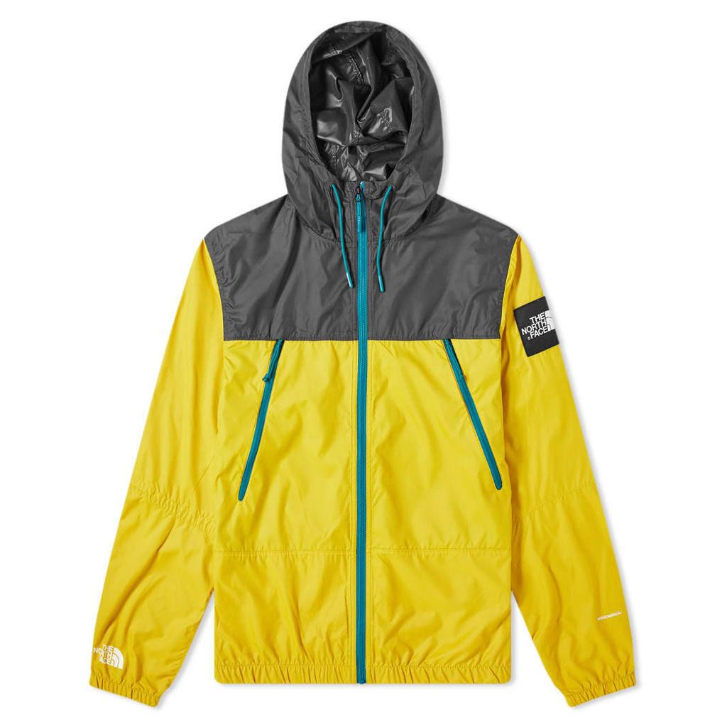 The North Face 1990 Seasonal Mountain Jacket Leopard Yellow & Asphalt Grey
