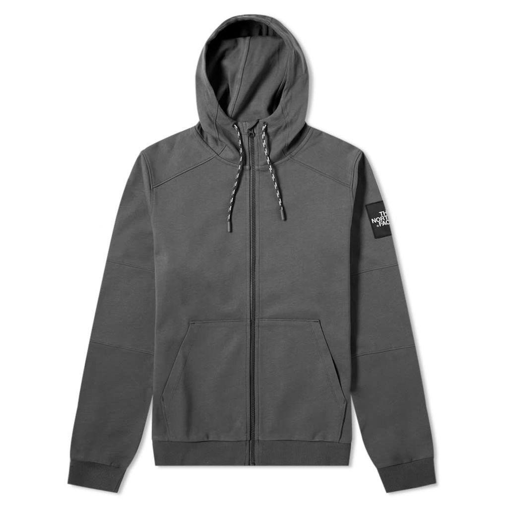 The North Face Fine 2 Full Zip Hoody Asphalt Grey