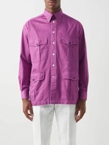 Alanui - Stripe Jacquard Sweater - Mens - Red Multi