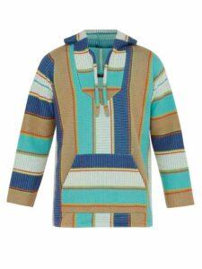 Alanui - Baja Stripe Knit Hooded Sweater - Mens - Multi