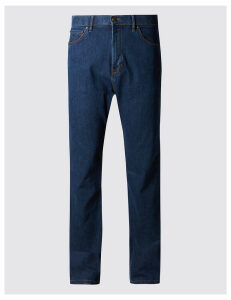 M&S Collection Big & Tall Regular Fit Stretch Jeans with Stormwear