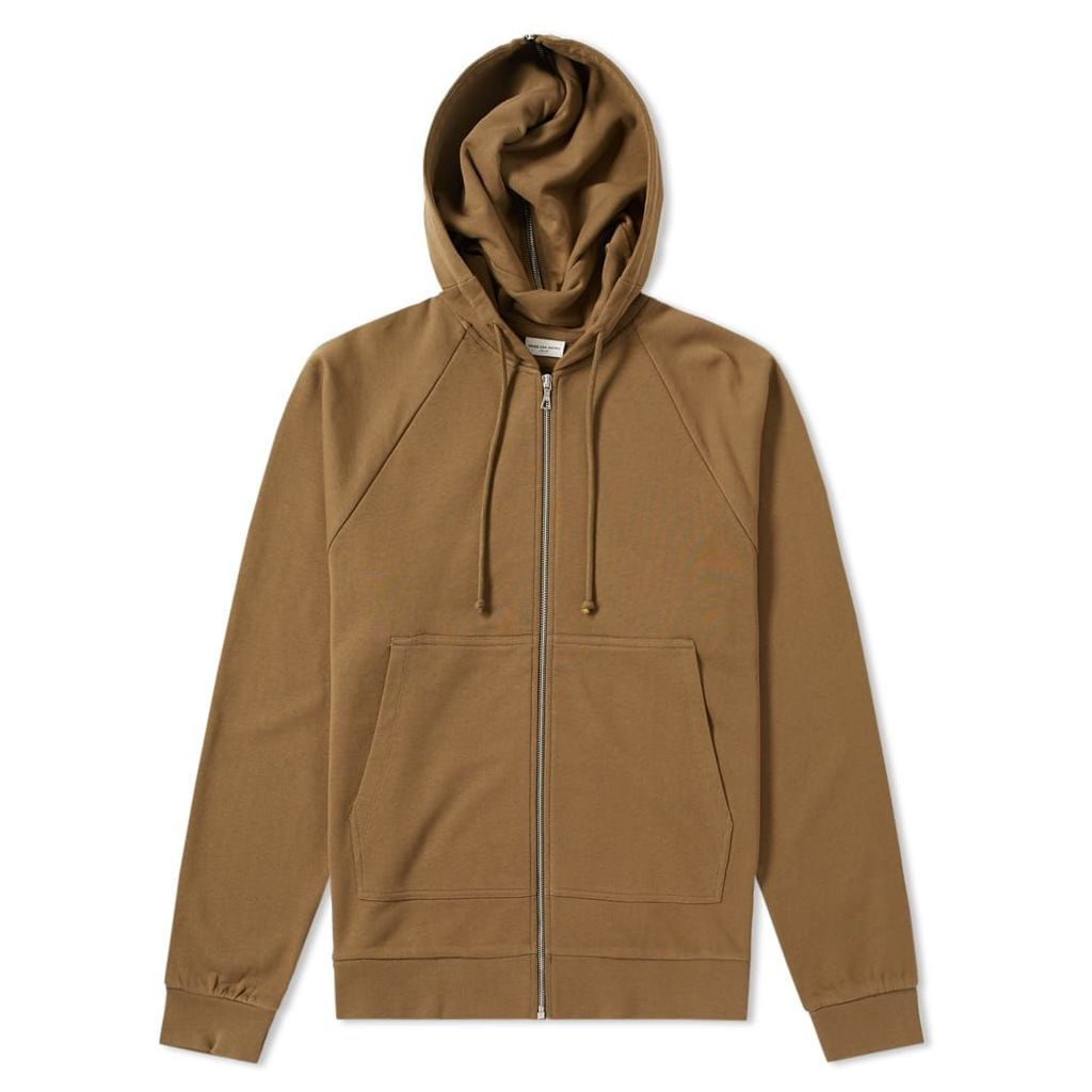 Dries Van Noten Zip Hoody Olive
