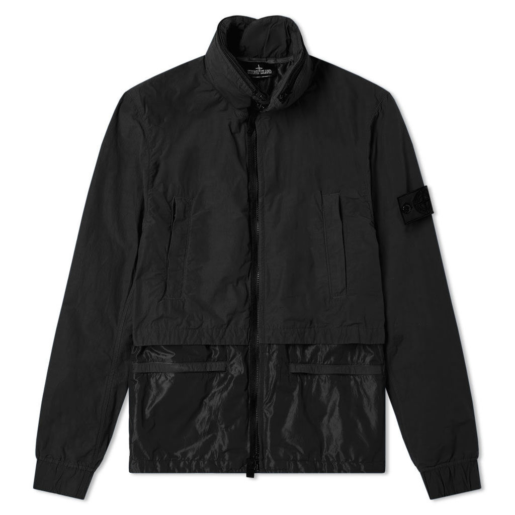 Stone Island Shadow Project Naslan Light Double Layer Jacket Black