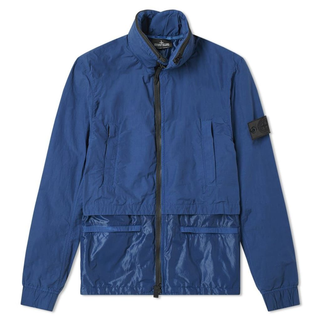 Stone Island Shadow Project Naslan Light Double Layer Jacket Blue