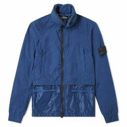Stone Island Shadow Project Naslan Light Double Layer Jacket Blue
