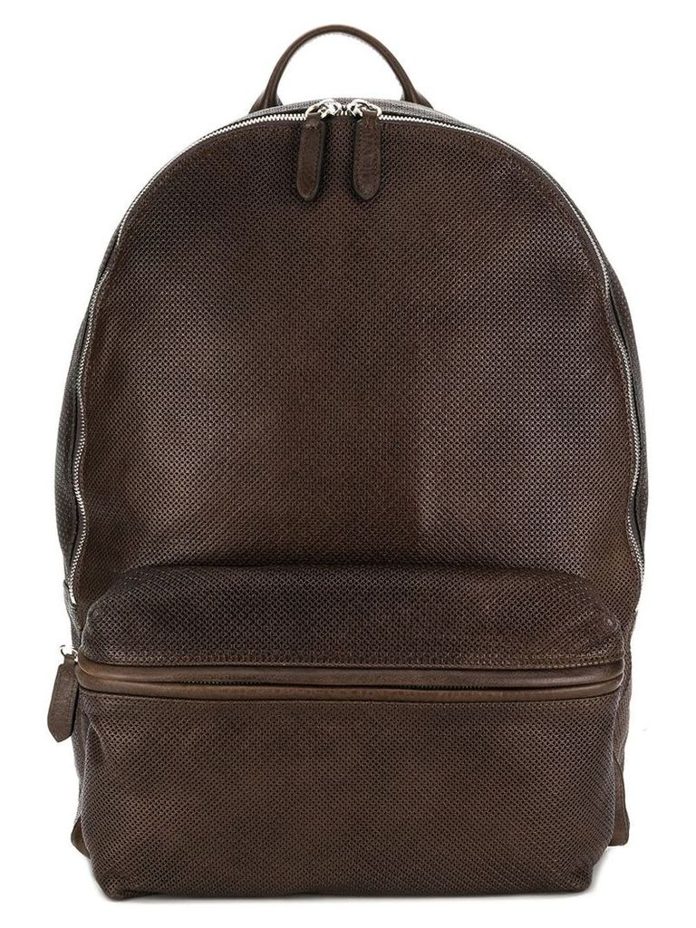 Eleventy classic backpack - Brown