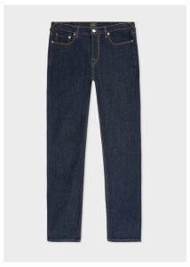 Men's Slim-Fit Indigo Rinse 'Authentic Comfort Stretch' Denim Jeans