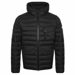 Barbour International Quilted Ouston Jacket Black