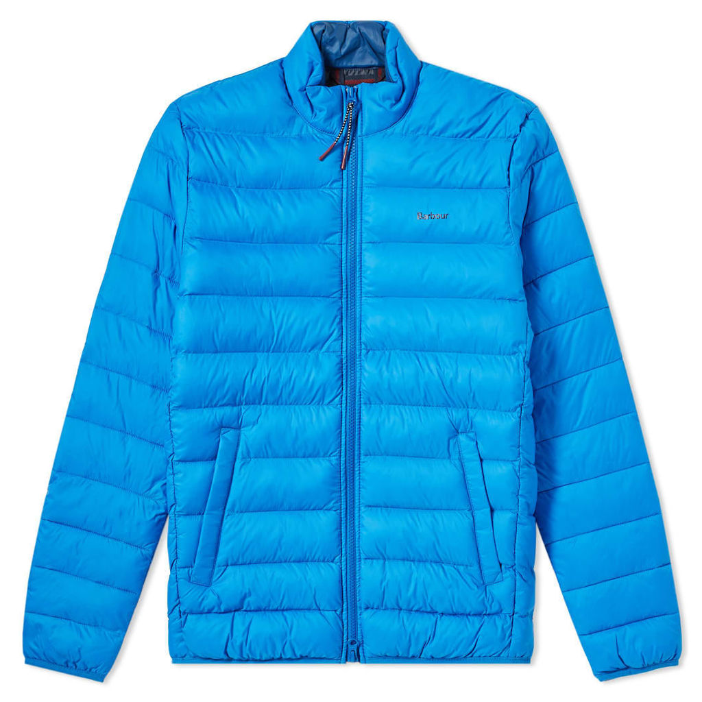 Barbour Nigg Quilted Jacket Frost Blue