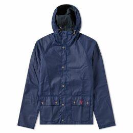 Barbour Pass Wax Jacket Regal Blue