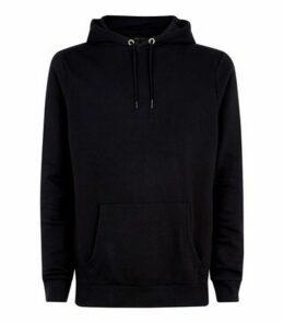 Black Pocket Front Long Sleeve Hoodie New Look