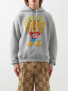 Gucci - Gg Pleated Cotton And Wool Blend Trousers - Mens - Beige