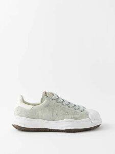Thom Browne - Drawstring Waist Adjustable Cuff Trousers - Mens - Grey