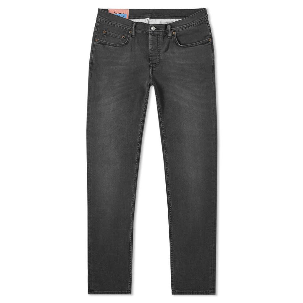 Acne Studios River Slim Tapered Fit Jean Used Black
