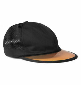 c76b09c6880 Gucci - Embroidered Cotton-twill And Mesh Baseball Cap - Black