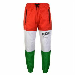 Moschino Italian Flag Jogging Bottoms