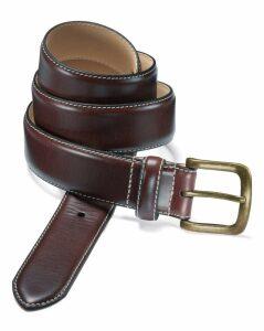 Brown Chino Belt Size 42 by Charles Tyrwhitt