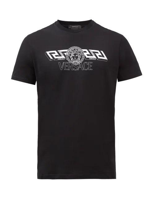 Giorgio Armani - Birdseye Trousers - Mens - Grey