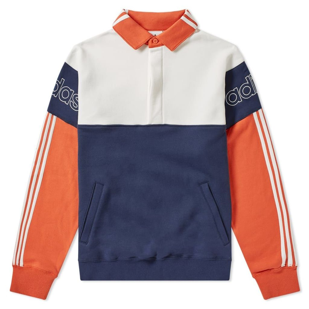 Adidas Rugby Sweat Collegiate Navy & Raw Amber